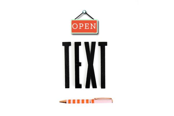 Textschuppen – Was Text für dein Branding tun kann
